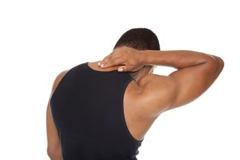 Man neck pain